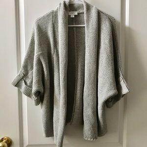 Loft open sweater